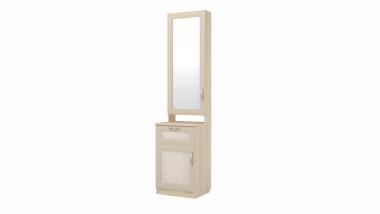 ВИП-6 шкаф комбинированный с зеркалом Визит-16